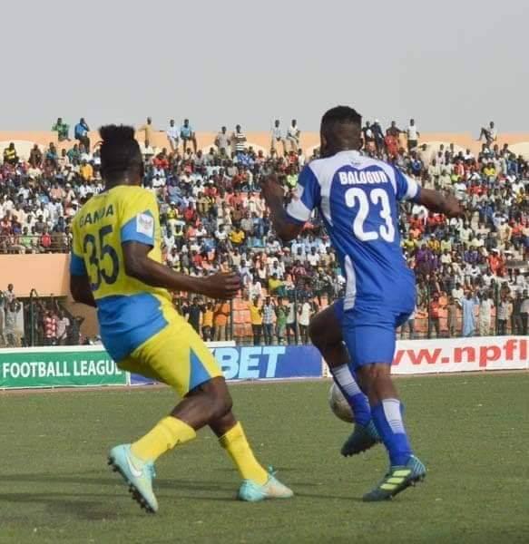 Kabiru Balogun happy to net first El-Kanemi goal