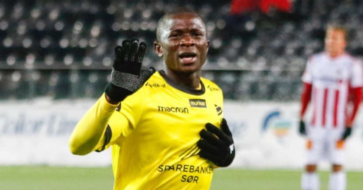 Afeez Aremu targets promotion with IK Start in Norway