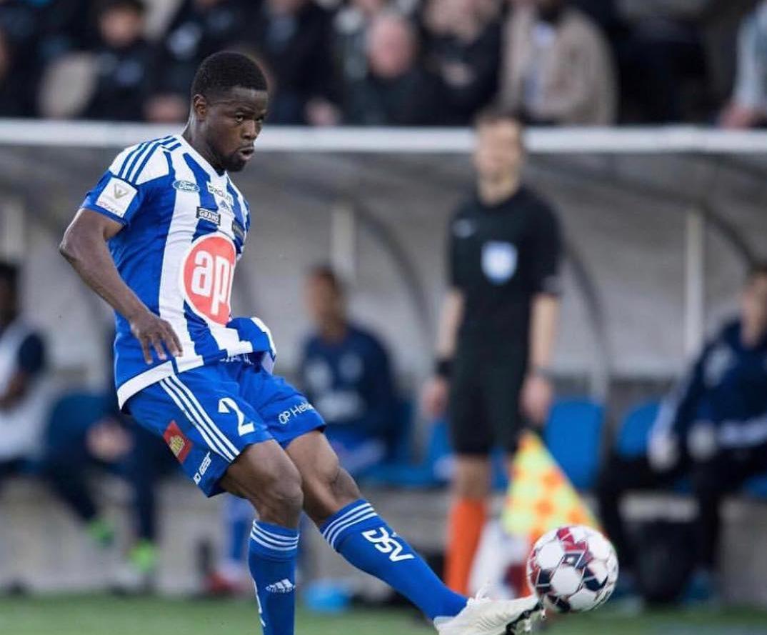 Echiejile scores first HJK Helsinki goal in loss to Inter