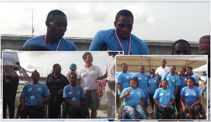 Para Canoeing and Rowing 2019: Alaba, Omoboni Dominate, Alayode Toyin shines