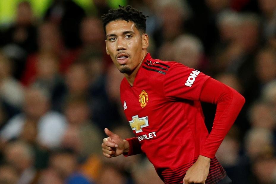 CHRIS SMALLING SAYS HE HIS INSPIRED BY HIS LATE DAD