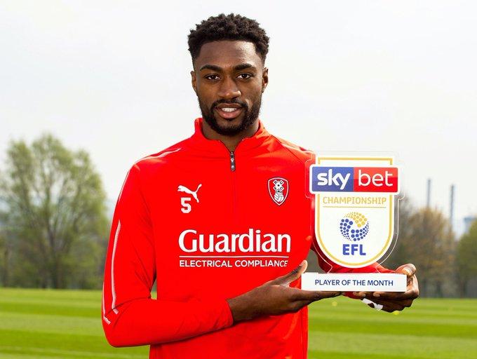Semi Ajayi wins Championship Player Of The Month