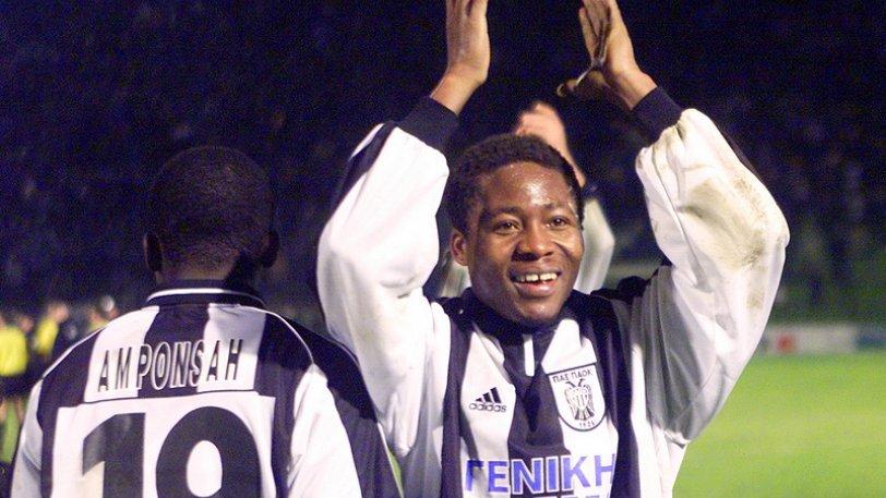 Udeze celebrates PAOK's league win