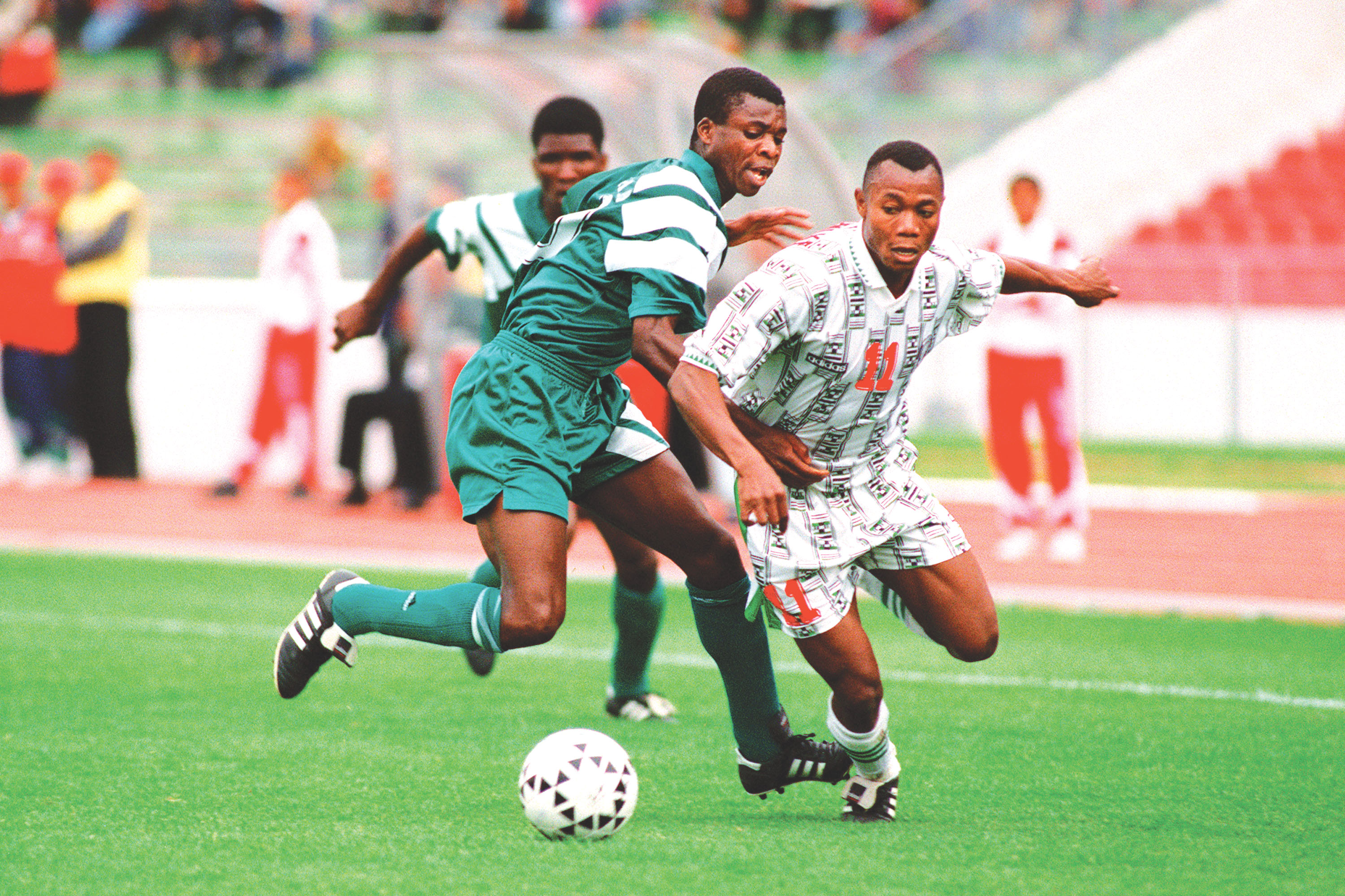 James Peter reveals how Amunike almost missed out on Eagles '94 squad