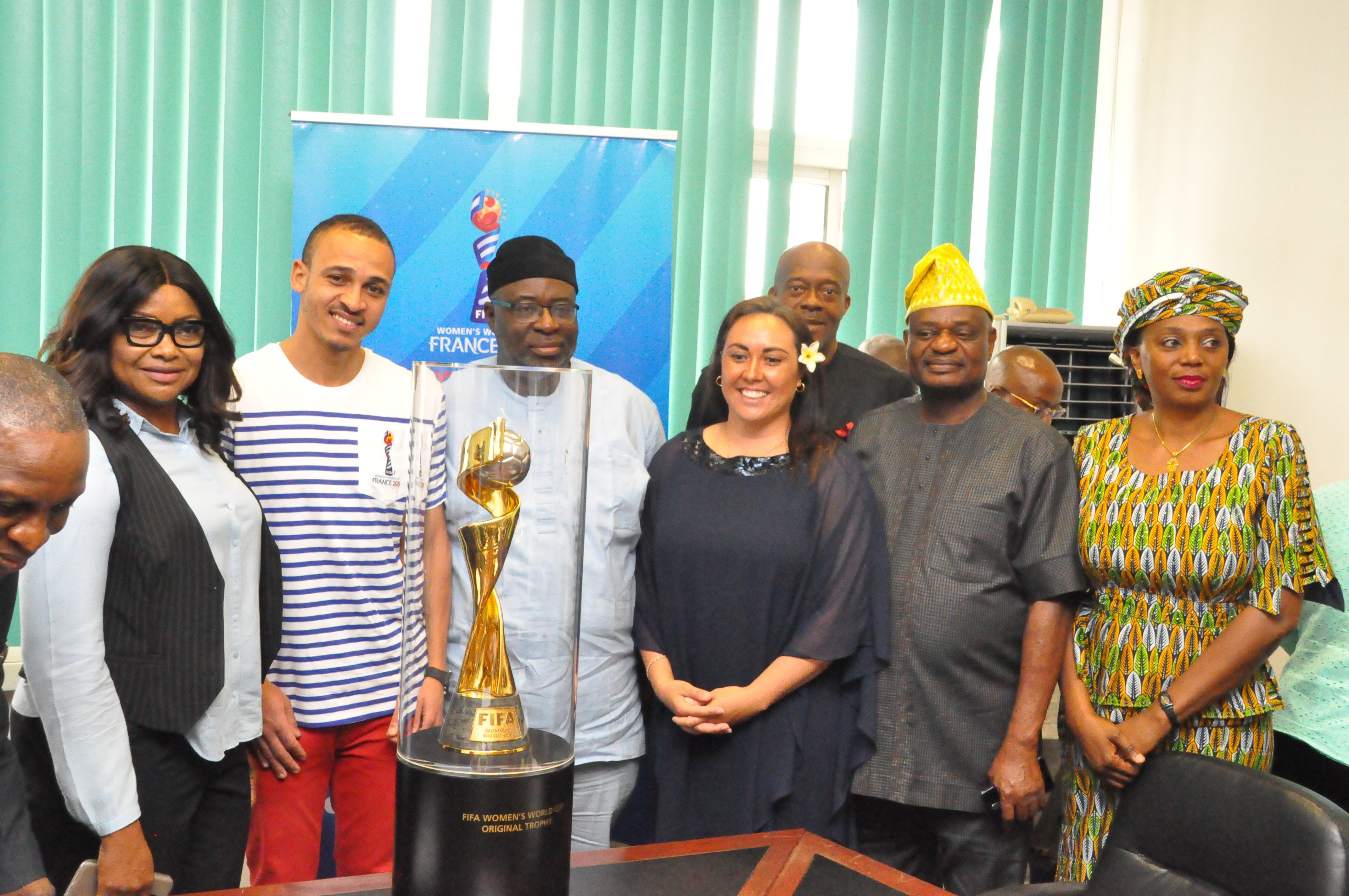 Why Odemwingie led the Women's W/Cup trophy tour to Nigeria – FIFA