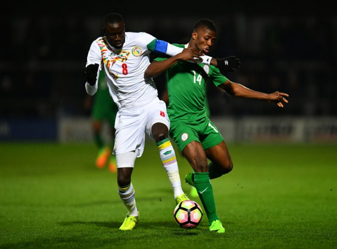 Senegal FA don confam Friend friend gbege with Eagles