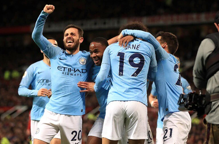 City make History as Pep conquers Old Trafford in Manchester Derby