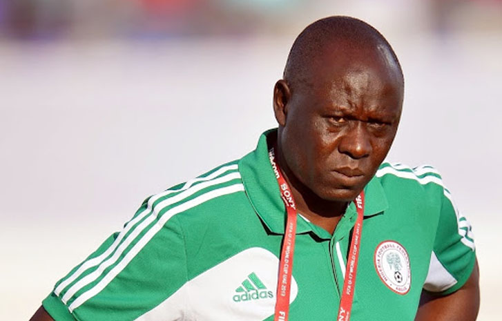 I'm not under pressure to qualify Eaglets for the world cup – Garba