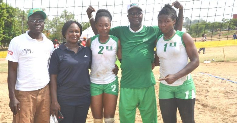 Nigeria female beach volleyball team secures World Cup ticket
