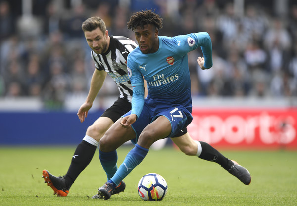 Iwobi returns to Arsenal line-up in Gunners 2-0 win over the Magpies