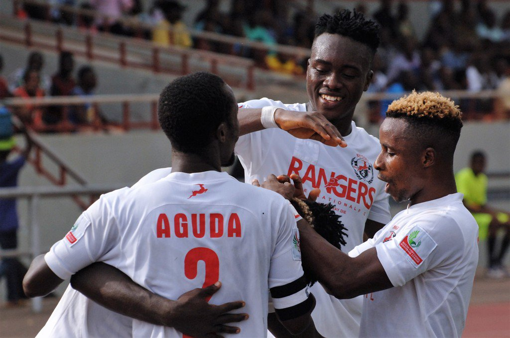Rangers forward Aguda says Flying Antelopes will be out for Lobi's jugular
