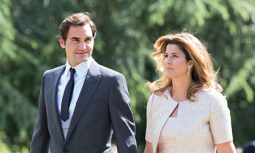 Tennis Legend Roger Federer WCW is his wife