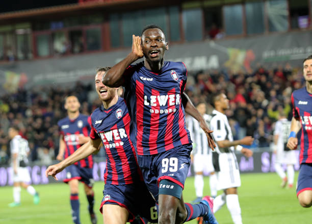 'Simy Nwankwo not for sale' – Crotone chief Vrenna