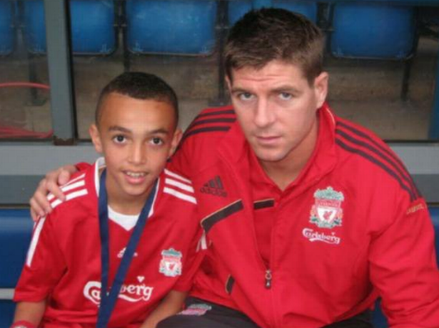 Trent Alexander-Arnold from ballboy in Liverpool's infamous loss in 13/14 to Liverpool's fullback