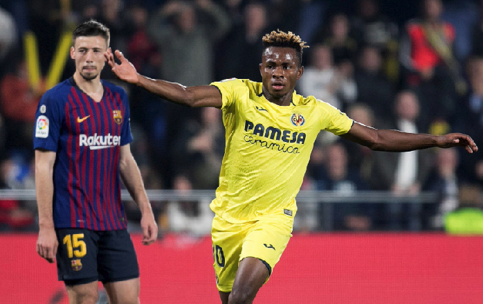 This Barcelona Player Should Join the Circus after Duel with Chukwueze