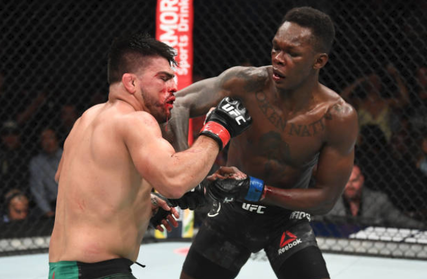Champion! Adesanya outlasts Gastelum to clinch Interim middleweight title