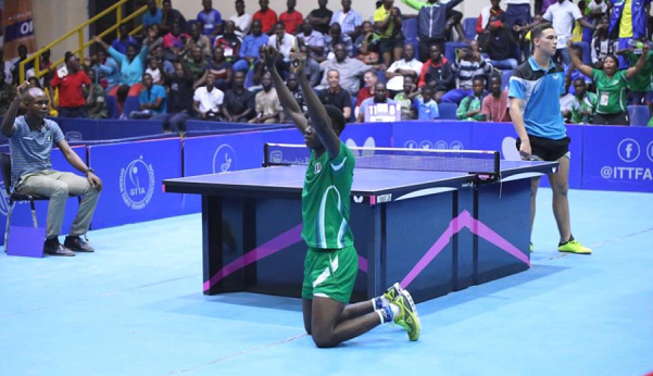 Solanke excited after emerging Africa's Junior Table Tennis champion