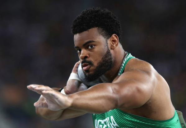 Another One! Nigerian Shot putter smashed Record at IAAF World Challenge