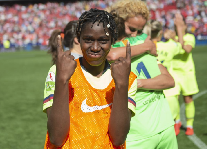 Asisat Oshoala vows to get better ahead of Women's World Cup in France