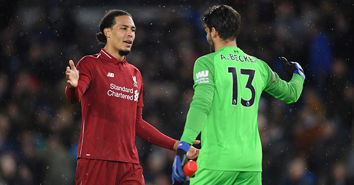 Virgil Van Dijk now a goalkeeper?