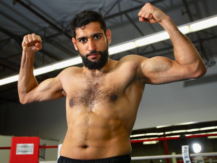 Amir Khan's wish is to cement his legacy and walk away from boxing as a legend