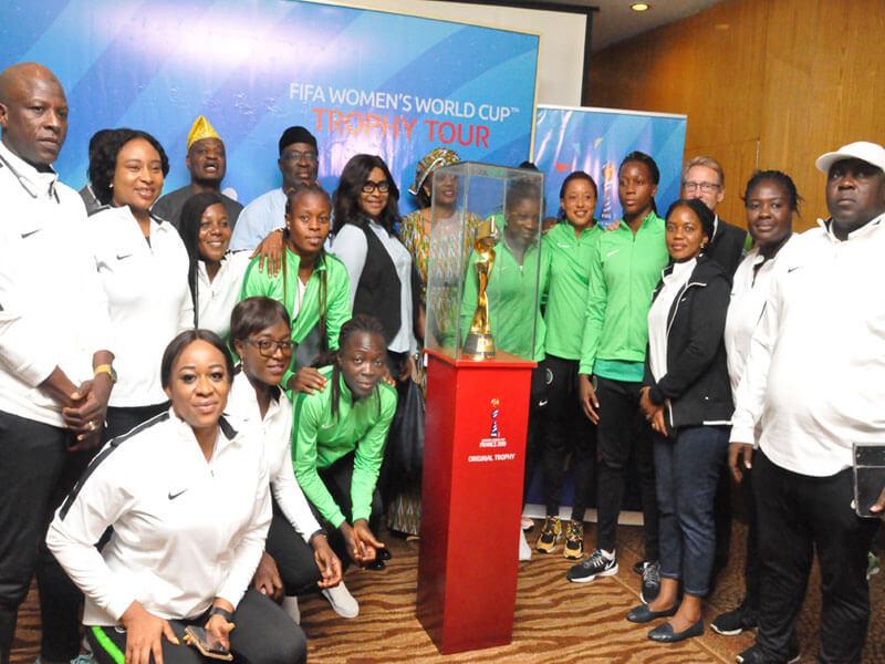 FIFA Women's W/Cup – Aisha Falode tasks Falcons to bring it home!