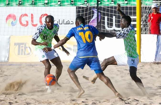 Africa Beach soccer games 2019 go hold for Cape Verde