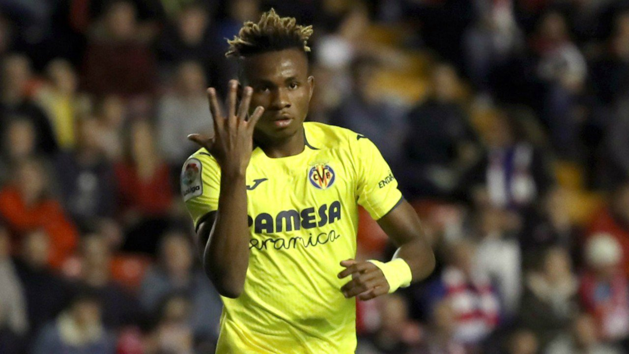 Villarreal will only accept suitors €63M bid for youngster Chukwueze