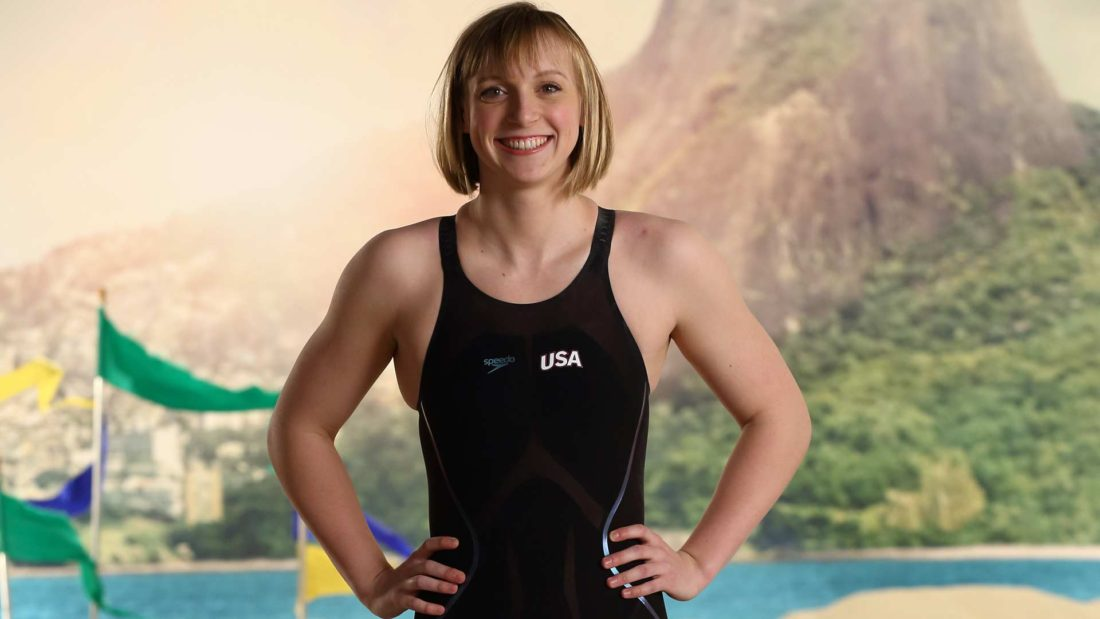Olympic Champion Katie Ledecky Has No Secret To Her Success