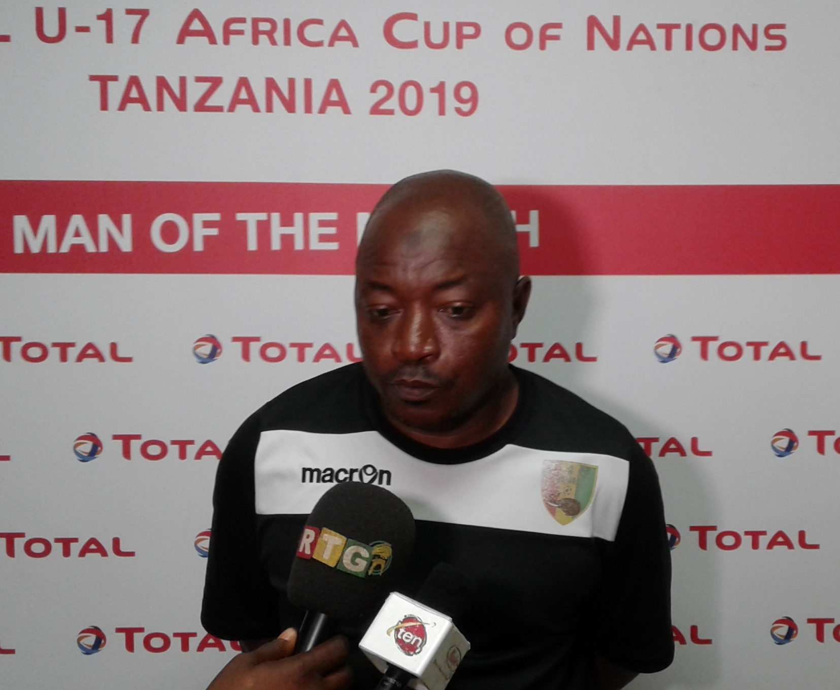 We are not afraid of Eaglets, says Guinea coach Mo Camara