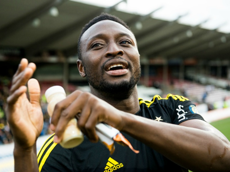 Obasi scores first goal for Swedish club Allsvenskan