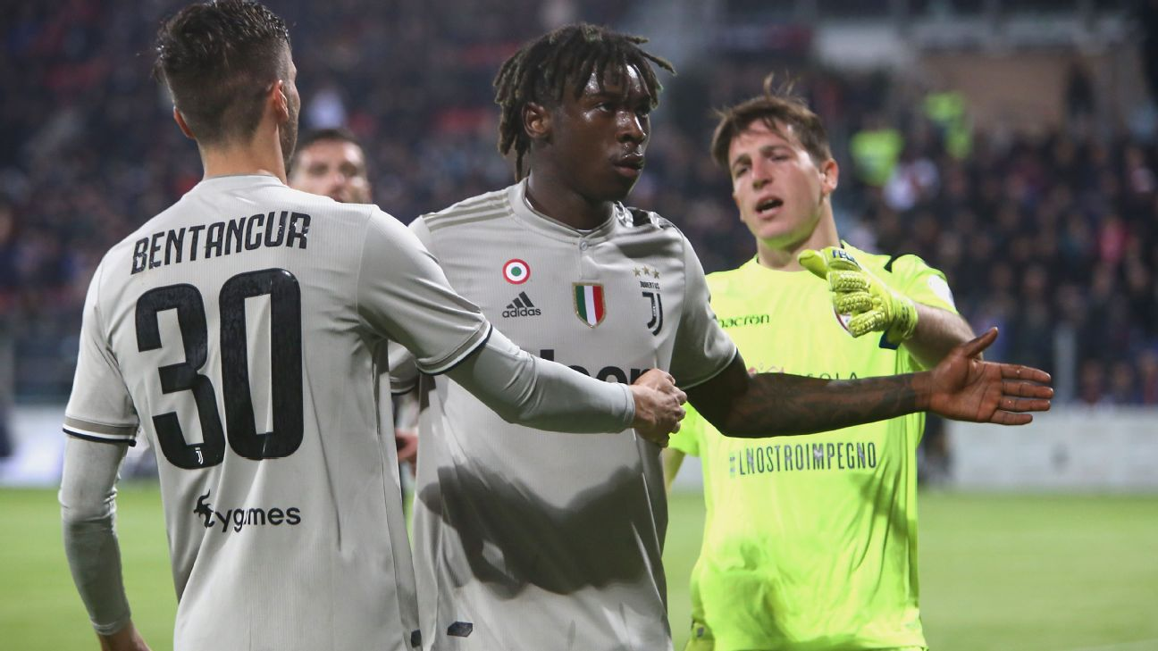 "Sterling slams Bonucci over ""50-50"" comment on racist chants at Moise Kean"