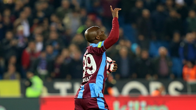 Nwakaeme on target for Trabzonspor against Krasnodar - Latest Sports News In Nigeria - brila.net