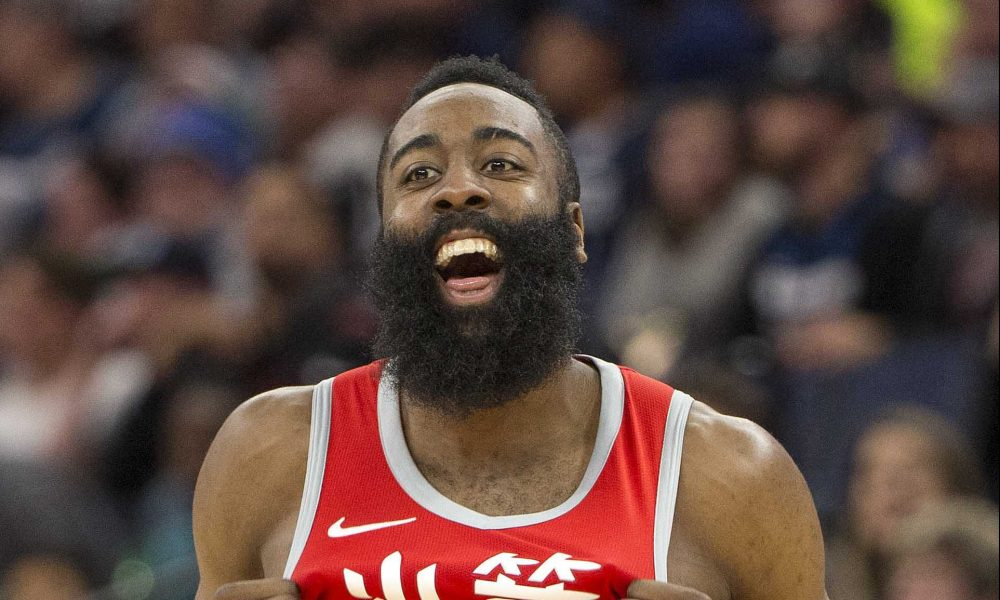 NBA's James Harden worth $500m and hasn't shaved in 7 years