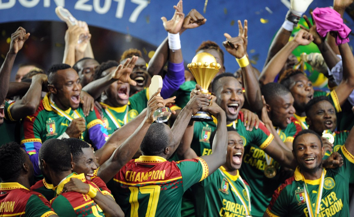 Defending Champions Cameroon don name players for AFCON
