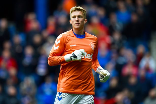 Rangers Midfielder becomes shot-stopper as Goalkeeper sees Red