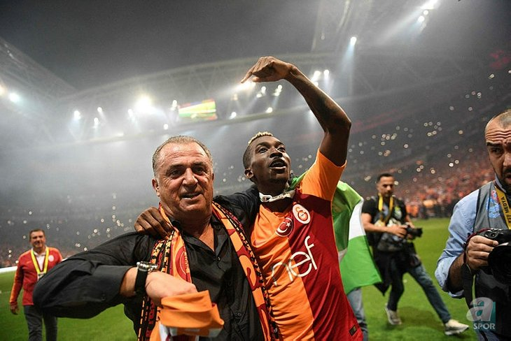 Onyekuru not carried away with Galatasary success; targets improvement