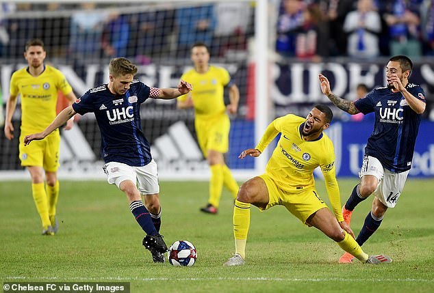SORRY CHELSEA – Ruben Loftus-Cheek out for ONE year after suffering Achilles injury