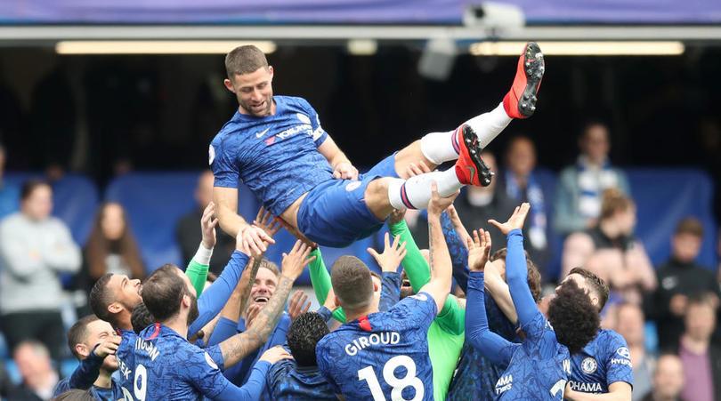 My last Chelsea memory will be last season's FA Cup final'- Gary Cahill