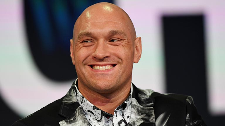 """I almost live my life as a routine training camp now""- TYSON FURY"