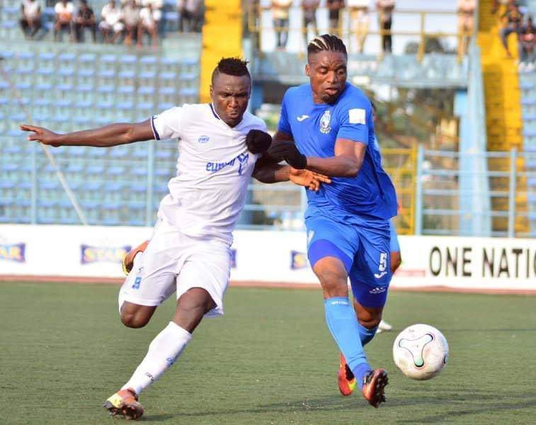 Playoff ticket not in the bag, Anaemena warns Enyimba teammates