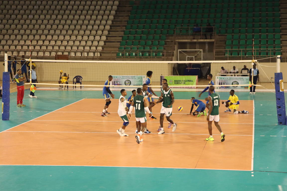2019 AAG Volleyball Qualifiers: Nigeria spanks Niger Republic
