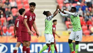 Nigeria beats Qatar 4 -0 to kickstart U20 World Cup in style
