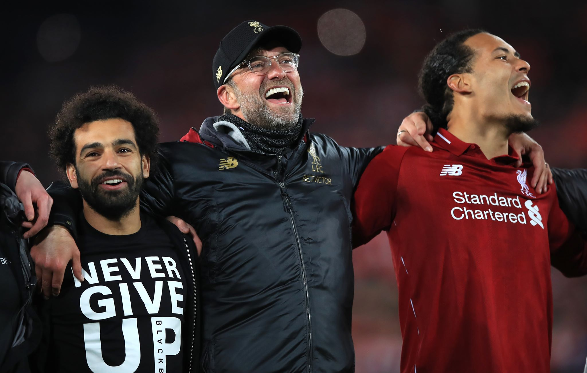 Mo Salah's 'Never Give Up' T-shirt sums up Liverpool's Barcelona win