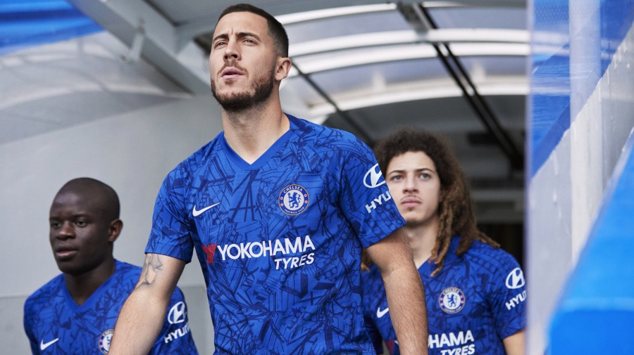 64b2e9e45 Hazard models Chelsea s new kit for next season - Latest Sports News ...