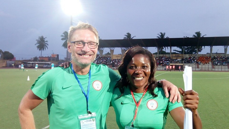 Falcons coach Madu assure of team's resolve to win WAFU ahead of participation