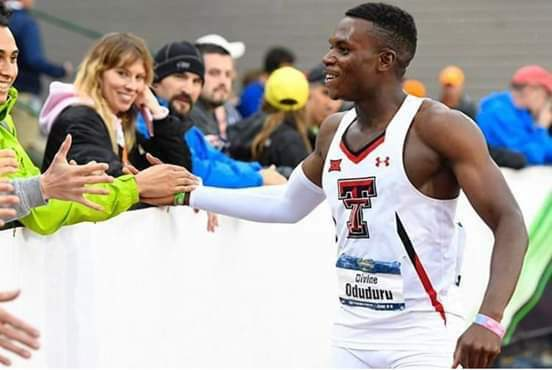 Sensational ! Oduduru breaks sub 10s at Big-12 Championship