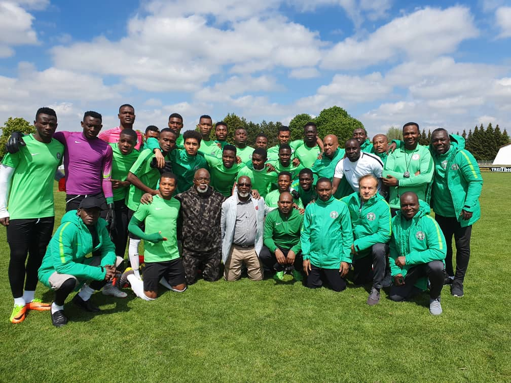 Go to Poland and conquer – Pinnick tells Flying Eagles