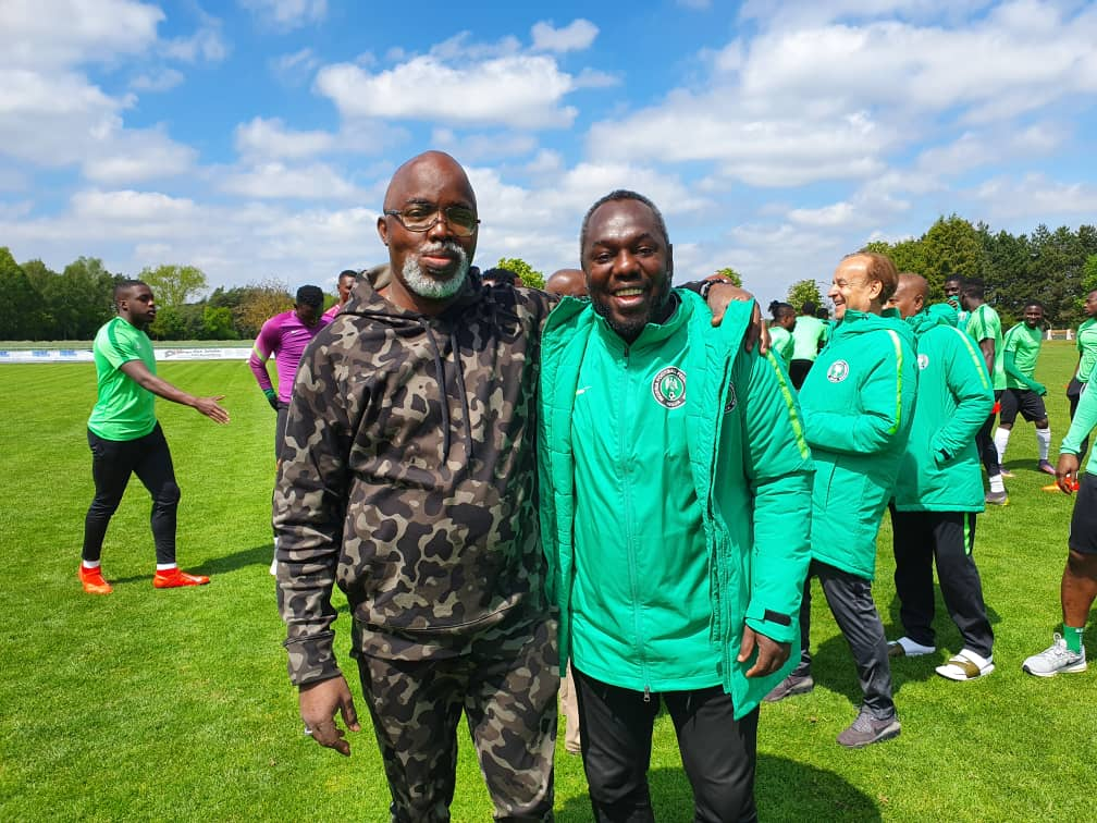 We go always dey there for we ex-internationals dem – Pinnick