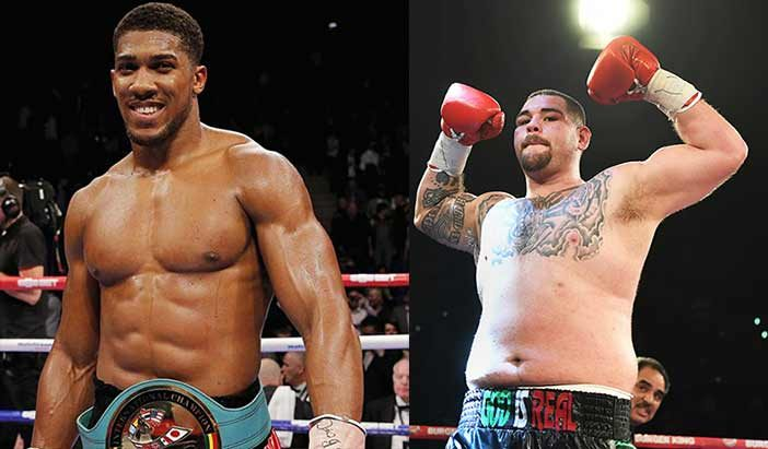 Anthony Joshua to fight Andy Ruiz Jr. on June 1